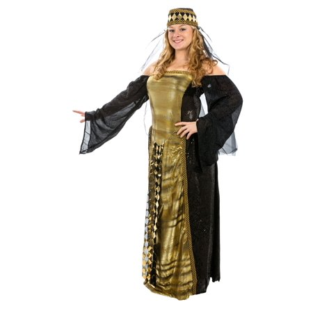 Adult Renaissance Venetian Sorceress Costume - Adult, one size