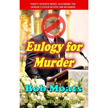 Eulogy for Murder - eBook (Eulogy For Best Friend Sample)