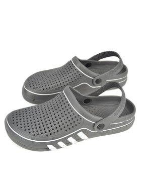 VONMAY Men's Clogs Summer Slipper Antislip Sandals Garden Shoes Shower Beach Pool Bathroom Breathable Mesh Slippers
