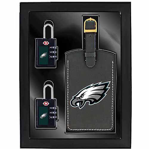 Aminco 3-Piece Luggage Security Gift Set, Eagles
