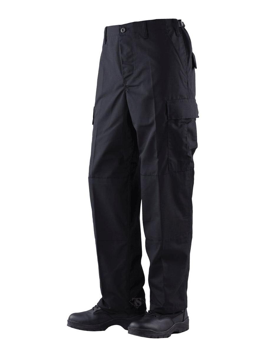 1732 Mens BDU Pants, Cotton/Poly Twill, Black