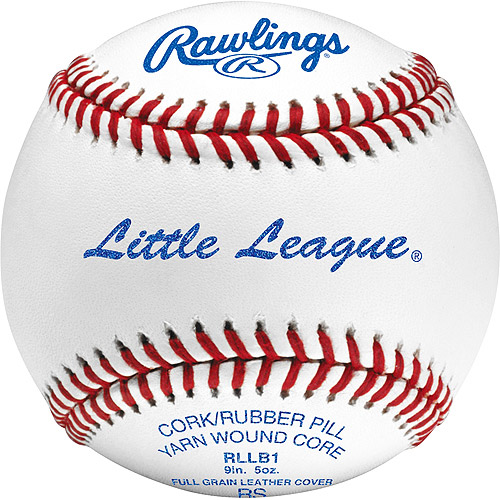Rawlings Baseball Official Little League Game-Use Baseball (Singles) Ages 14 & Under RLLB1BT