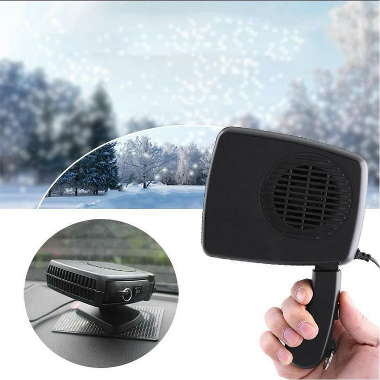 4PACK Portable 12V Car Heater and Fan, Electronic Heater Cooling 2 in 1 Fan