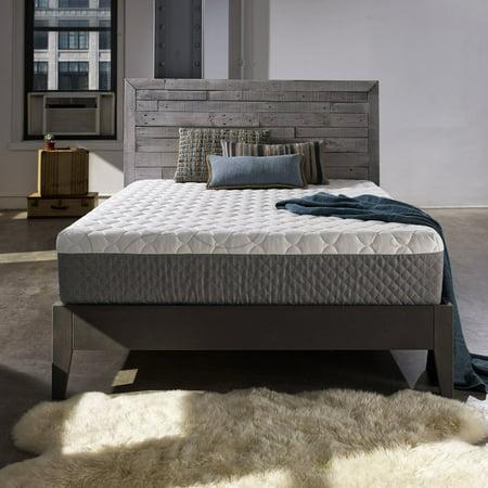 Sleep Innovations Taylor 12 in. Gel Memory Foam Mattress ()