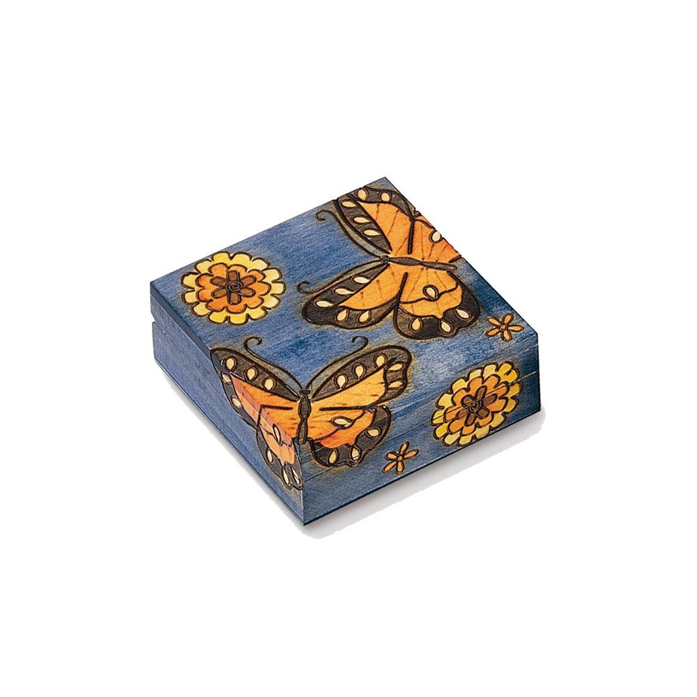 Cornell Wooden Butterfly Box