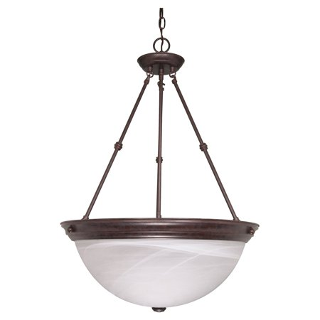 Glass Pendant Light Fixture - Nuvo Lighting 60212 - 3 Light (Medium Screw Base) 20