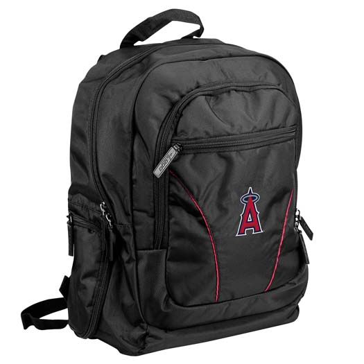 "Los Angeles Angels Official MLB 18""x15""x2"" Stealth Backpack by Logo 501626"