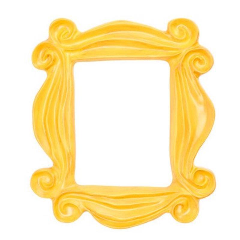 Handmade Yellow Peephole Frame as Seen on Monica's Door o...