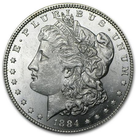 1884 Morgan Silver Dollar BU
