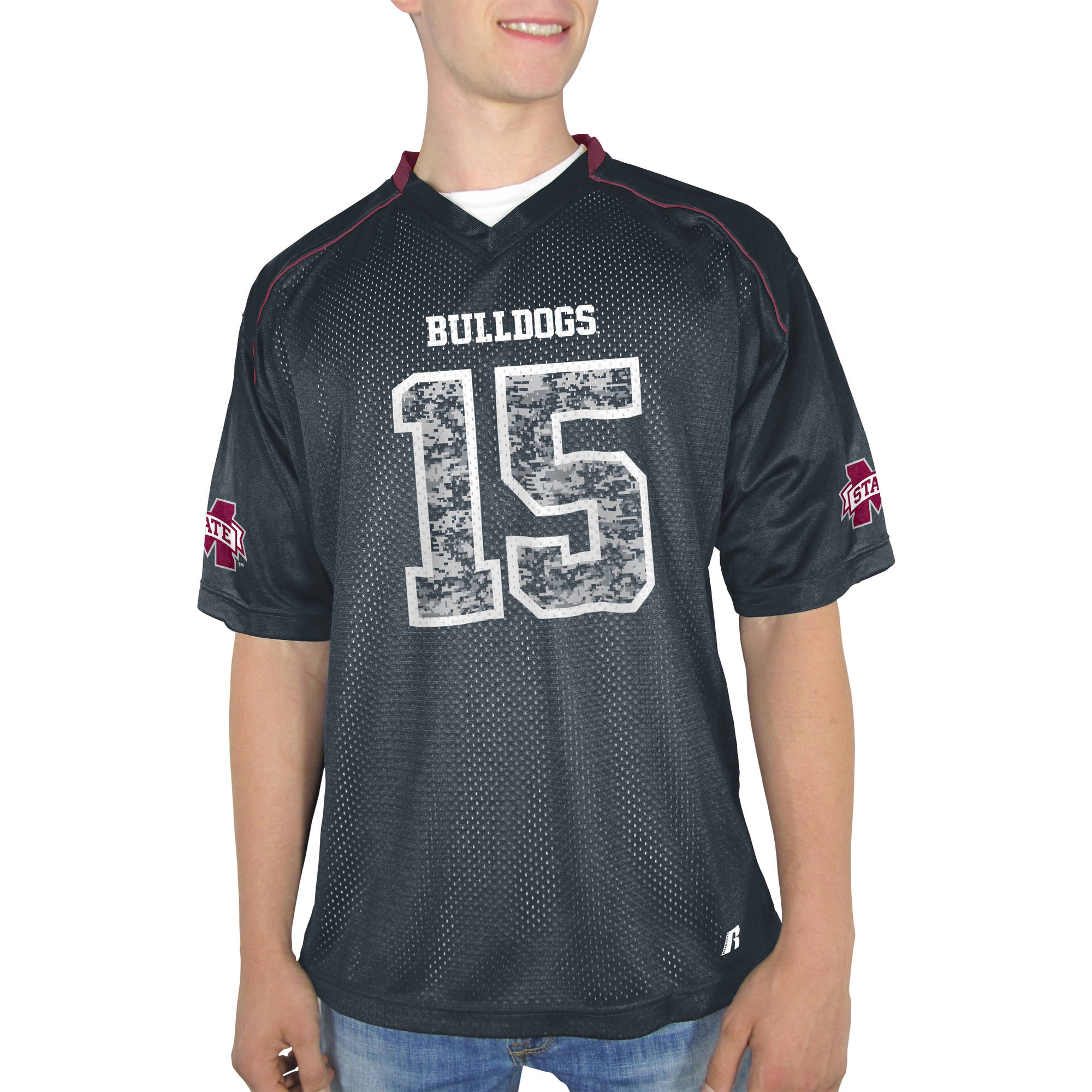 Russell NCAA Mississippi State Bulldogs Big Men's    Jersey