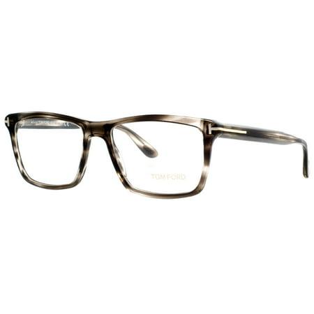0e679b93145e3 Tom Ford TF 5407 005 54mm Clear Smoke Gray Havana Eyeglasses - Walmart.com