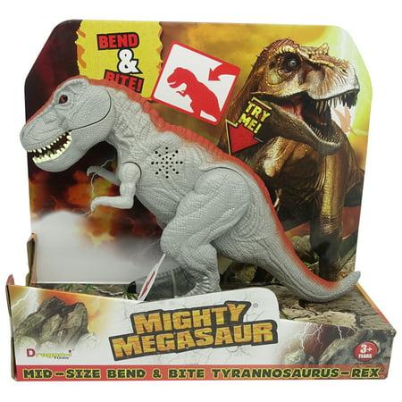 Mighty Megasaur Bend & Bite T-Rex, Grey (T-rex Sonnenbrille)