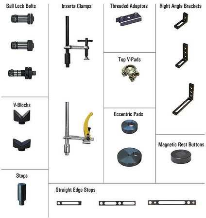 BUILDPRO TMK520 Modular Fixturing Kit, 80 Pc