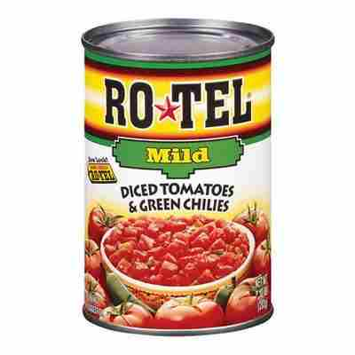 Rotel® Diced Tomatoes & Green Chilies Mild 10oz
