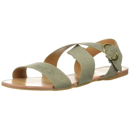 Qupid Womens Archer Open Toe Casual Ankle Strap Sandals - Archer Shoes