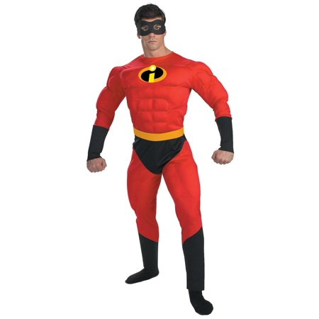Adult Mr. Incredible Costume - Mr Incredible Costumes