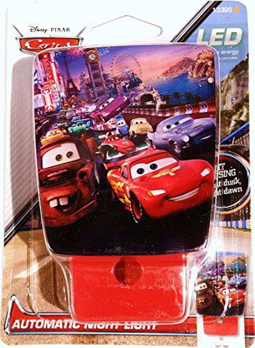 Disney Pixar Cars Automatic LED Night Light by Disney