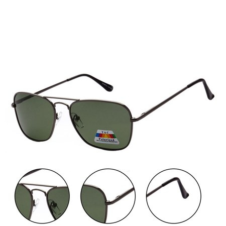 MLC Eyewear Polarized Ultra Light Weight Sport Aviator Sunglasses UV400 ()