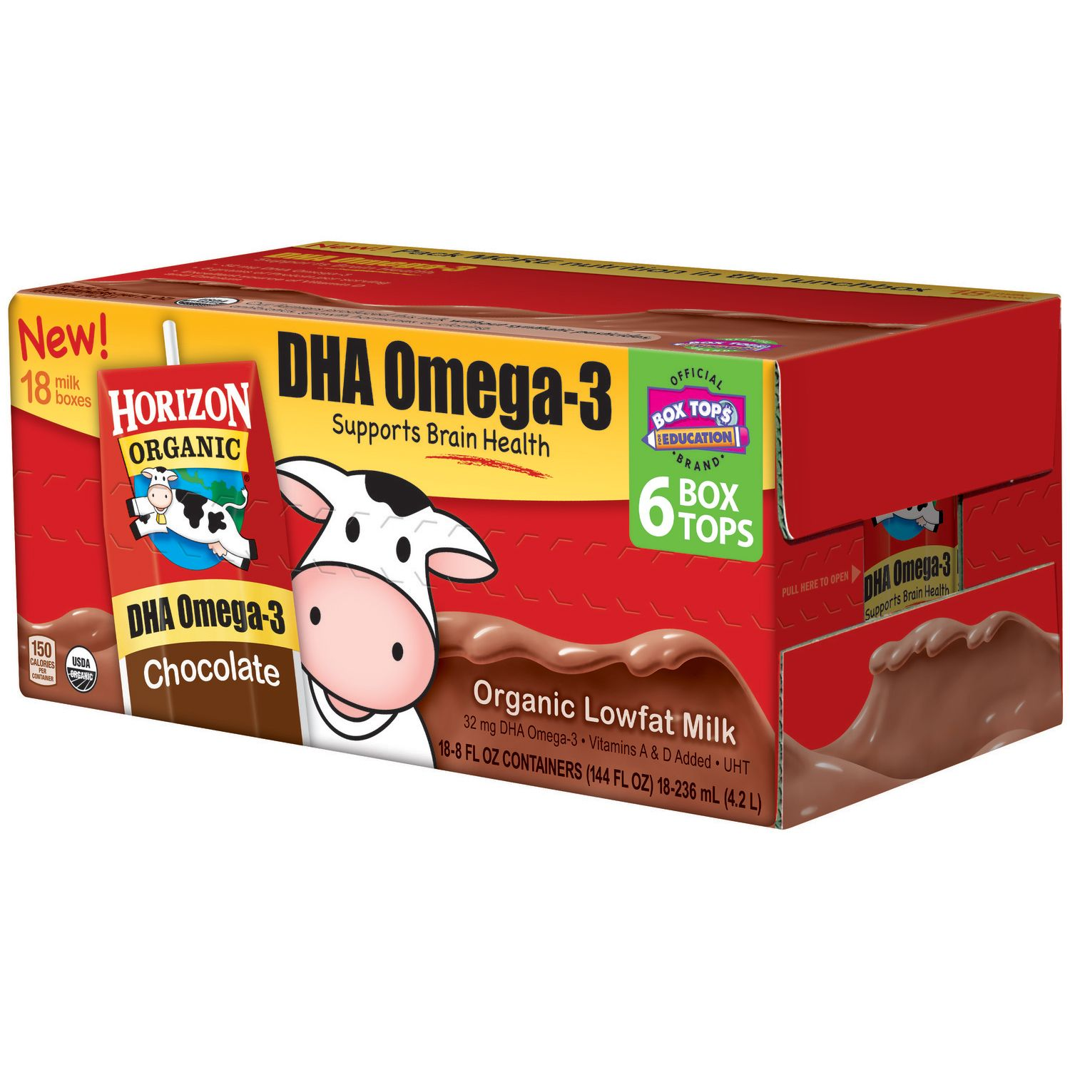 Horizon Organic Chocolate Milk - 8 oz. - 18 pk.