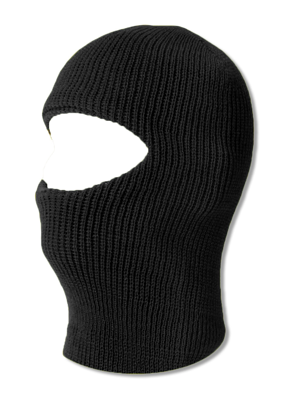 TopHeadwear One 1 Hole Ski Mask Black by