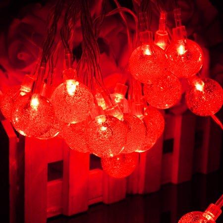 3M 20 LED Crystal Ball Fairy String Light Christmas Garden Garland  - image 2 of 5