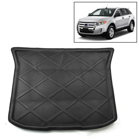 Auto Rear Trunk Liner Cargo Floor Mat Cover for Ford Edge 2007-2014 ()