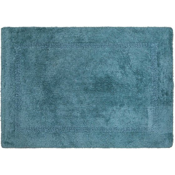 Better homes and gardens cotton reversible bath rug for Better homes and gardens bathroom rugs