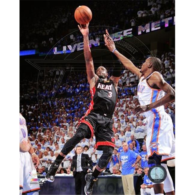 Photofile PFSAAOY22001 Dwyane Wade Game 2 of the 2012 NBA Finals Action Photo Print -8. 00 x 10. 00