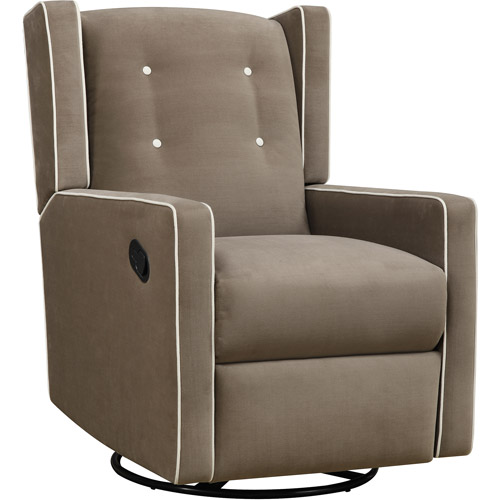 Baby Relax Mikayla Swivel Gliding Recliner, Choose Your Color by Baby Relax