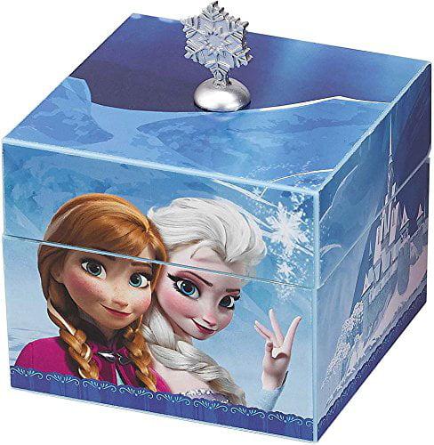 Disney Frozen Elsa Anna Keepsake Lockbox Talking Olaf Plush Doll Blanket Throw