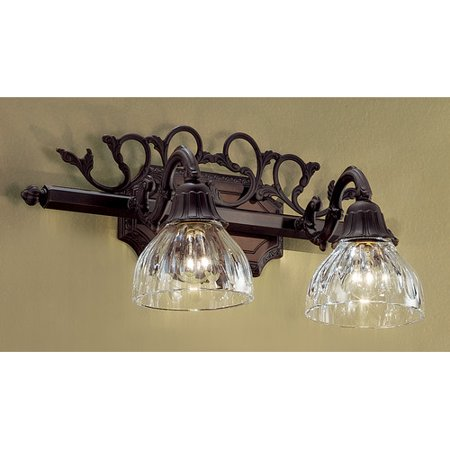 Majestic Materials - Classic Lighting Majestic 2-Light Vanity Light