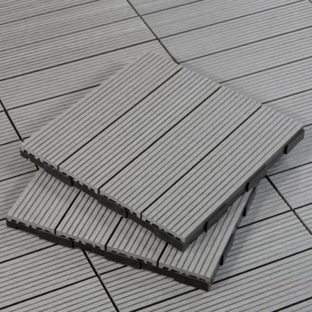 Cali Bamboo 7512003800 Bamdeck Tile 1 Square Foot Composite Decking Tiles