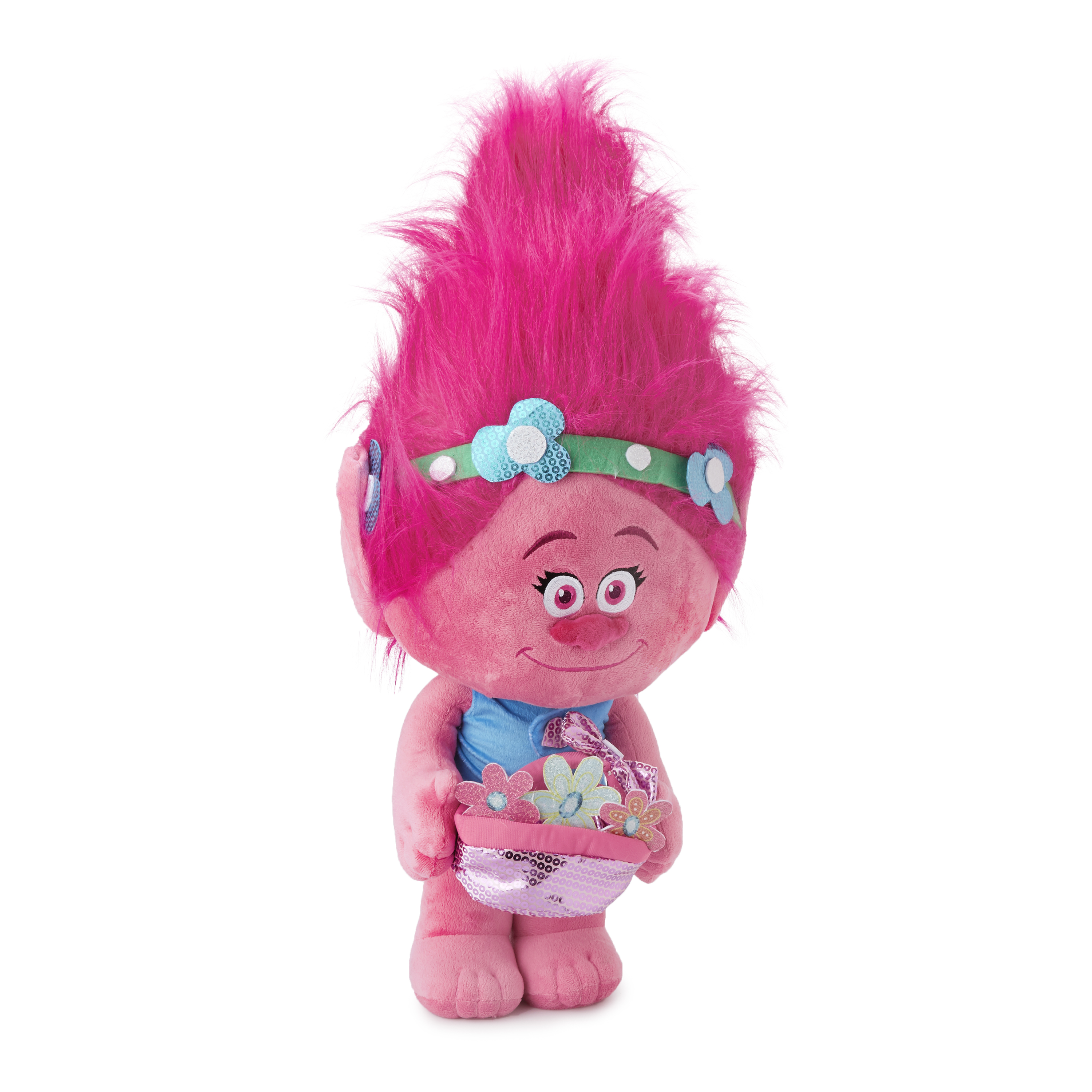 Easter Greeter Poppy with Easter Basket Dreamworks by Gemmy Industries