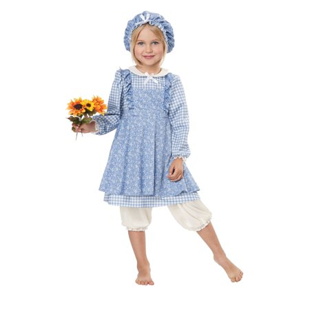 Halloween Little Prairie Girl Costume