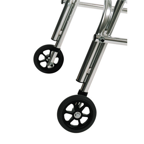 Kaye Products Adolescent's Walker Rear Leg Silent Wheel (Set of 2)