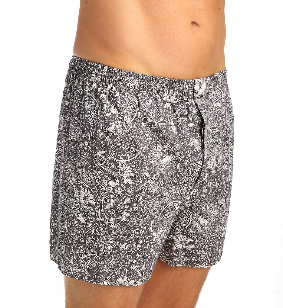Zimmerli 4647751 Sailors Paradise 100% Cotton Paisley Boxer Shorts
