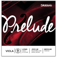 D'Addario Prelude Series Viola G String 16+ Long Scale