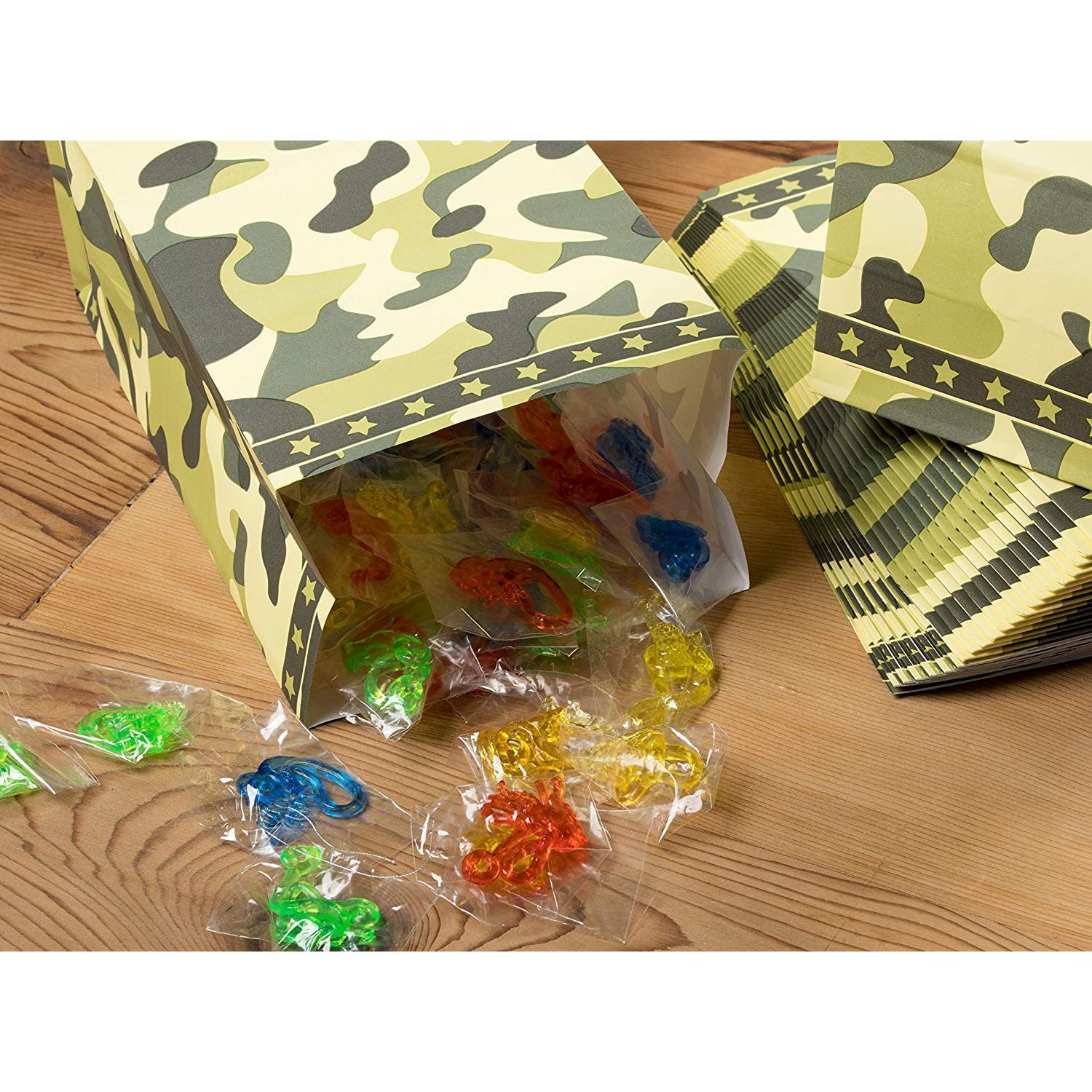 New Favours Party Boxes Camouflage x15