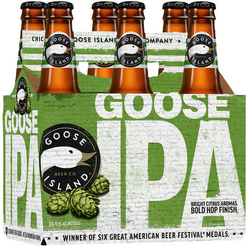 Goose Island India Pale Ale Beer, 6 pack, 12 fl oz