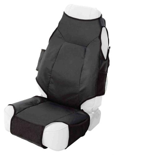 Smittybilt Katch-All Black Seat Cover 56601