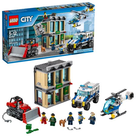 LEGO City Police Bulldozer Break-in 60140 (561 Pieces) (Lego Bulldozer)