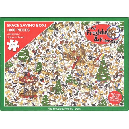 Otter House 1000 Piece Puzzle - Find Freddie & Friends - Dogs