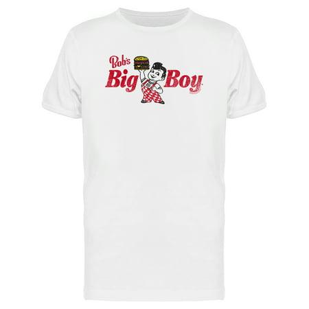 Bob's Big Boy Vintage Burger Logo Men's T-shirt