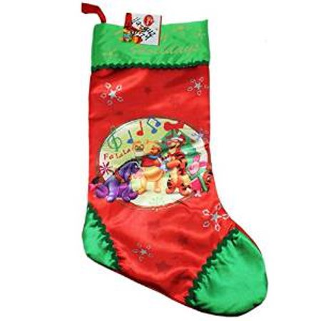 christmas stocking disney winnie the pooh happy holiday socks new 388287 - Walmart Christmas Socks