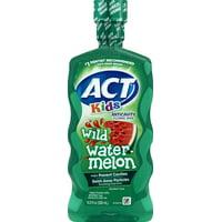 ACT Kids Anticavity Wild Watermelon Fluoride Mouthwash, 16.9oz