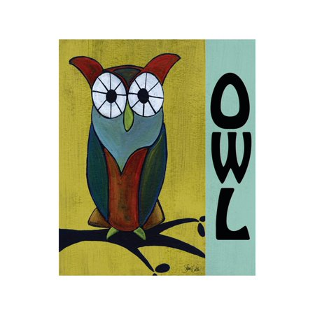 Woodland Owl Print Wall Art By Shanni Welsh - Woodland Owl