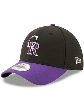 sneakers for cheap d8545 5fb6b Product Image Colorado Rockies New Era Alternate Team Classic 39THIRTY Flex  Hat - Black Purple