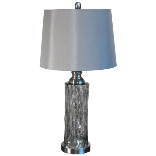 EC World Imports Urban Designs Quicksilver 26'' Table Lamp by ecWorld
