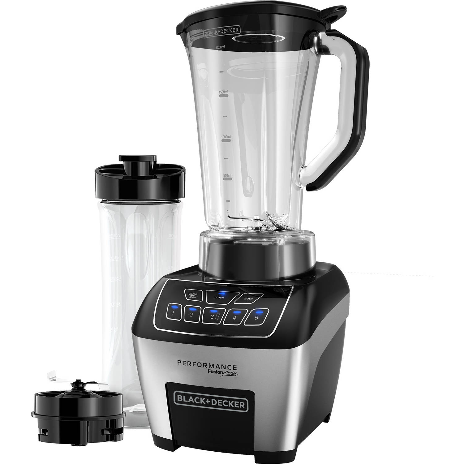 Black+Decker Performance Fusionblade Digital Touch 5 Speed Blender Black (BL6010)