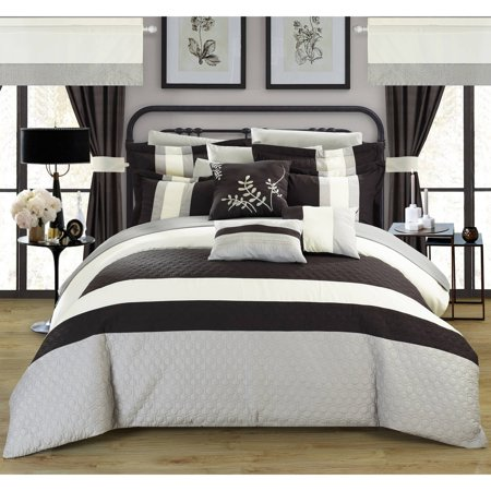 Lorena 24 Piece Complete Bed In A Bag Bedding Comforter